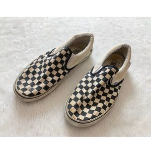 Used checkered vans